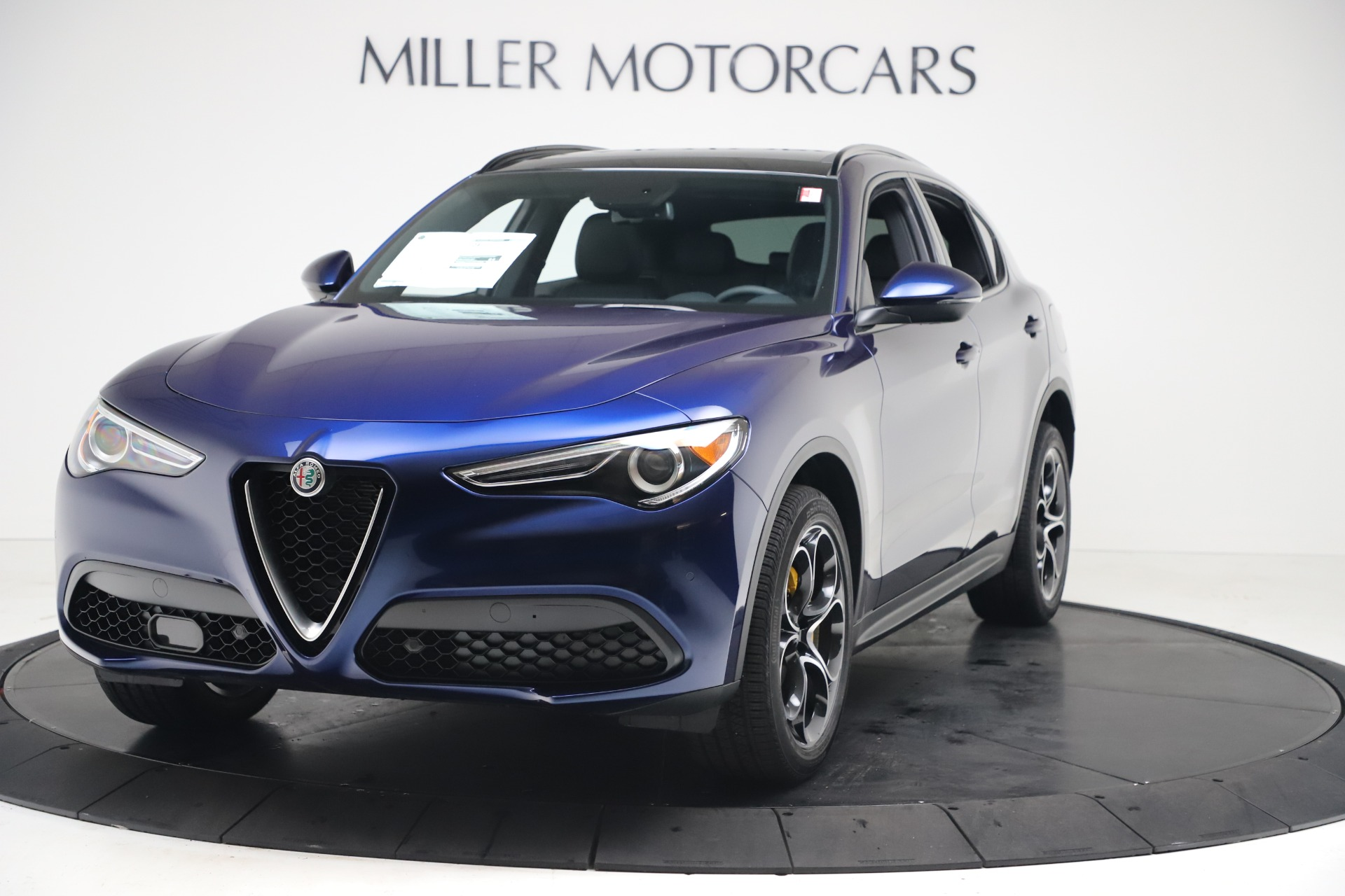 New 2019 Alfa Romeo Stelvio Ti Sport Q4 for sale $53,990 at Bugatti of Greenwich in Greenwich CT 06830 1