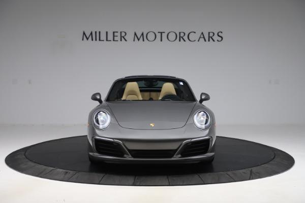 Used 2017 Porsche 911 Targa 4S for sale $123,900 at Bugatti of Greenwich in Greenwich CT 06830 18