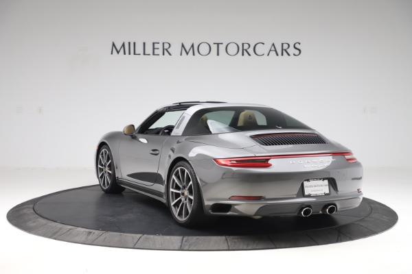 Used 2017 Porsche 911 Targa 4S for sale $123,900 at Bugatti of Greenwich in Greenwich CT 06830 5
