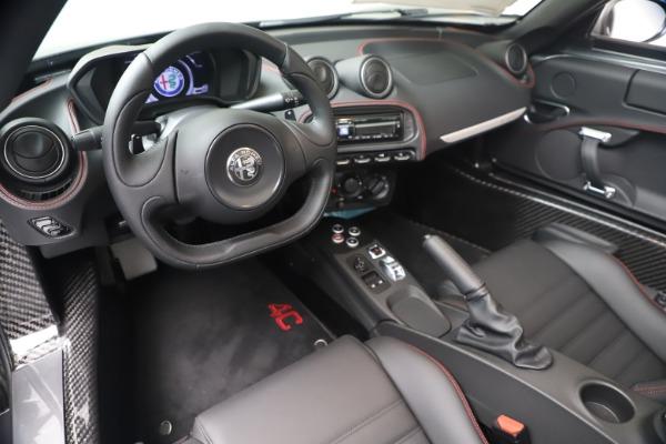 New 2020 Alfa Romeo 4C Spider for sale $78,795 at Bugatti of Greenwich in Greenwich CT 06830 19