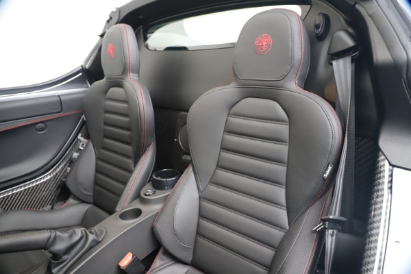 New 2020 Alfa Romeo 4C Spider for sale $78,795 at Bugatti of Greenwich in Greenwich CT 06830 21