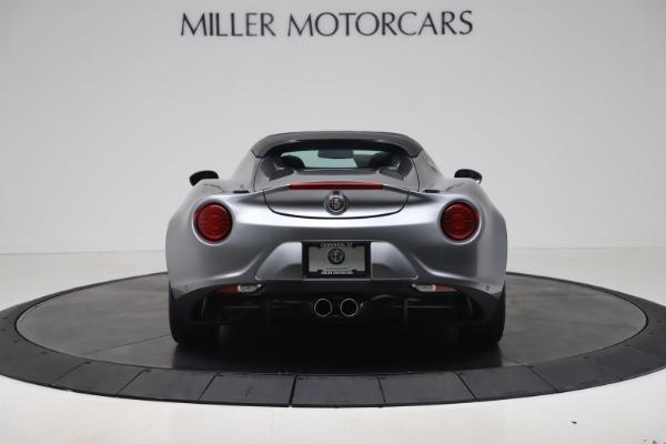 New 2020 Alfa Romeo 4C Spider for sale $78,795 at Bugatti of Greenwich in Greenwich CT 06830 6