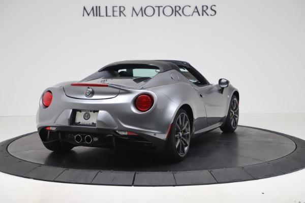 New 2020 Alfa Romeo 4C Spider for sale $78,795 at Bugatti of Greenwich in Greenwich CT 06830 7