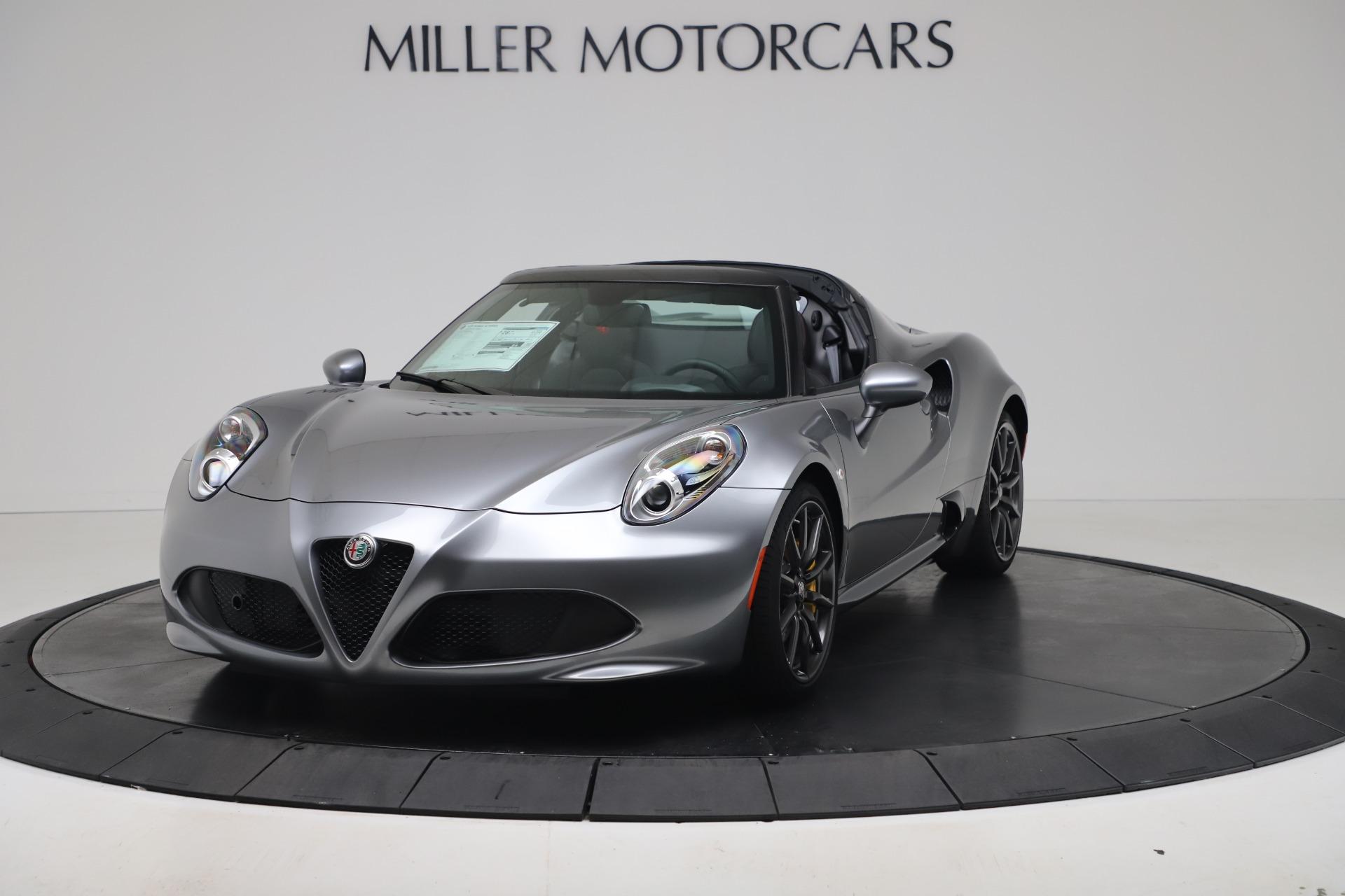 New 2020 Alfa Romeo 4C Spider for sale $78,795 at Bugatti of Greenwich in Greenwich CT 06830 1
