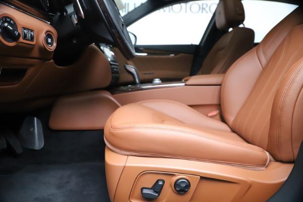 New 2020 Maserati Quattroporte S Q4 GranLusso for sale $117,935 at Bugatti of Greenwich in Greenwich CT 06830 14