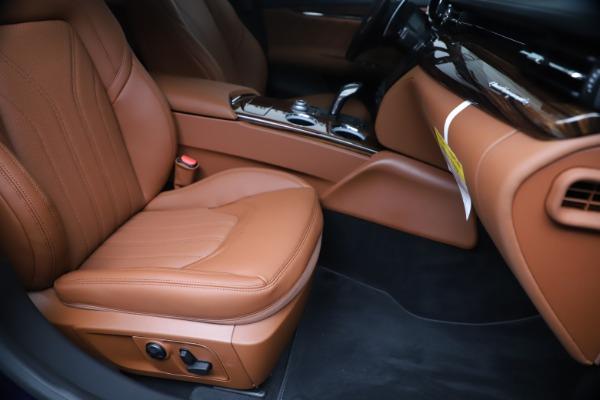 New 2020 Maserati Quattroporte S Q4 GranLusso for sale $117,935 at Bugatti of Greenwich in Greenwich CT 06830 24