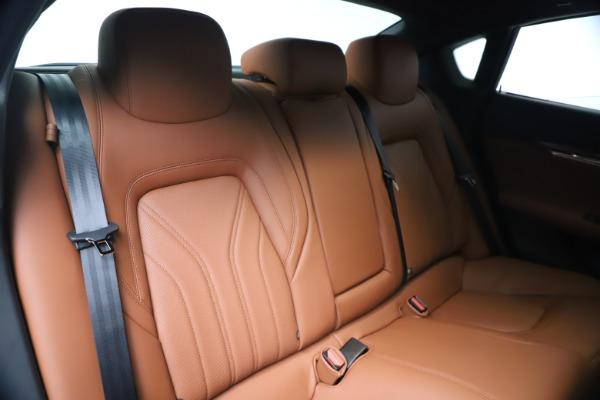 New 2020 Maserati Quattroporte S Q4 GranLusso for sale $117,935 at Bugatti of Greenwich in Greenwich CT 06830 26