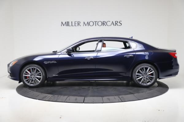 New 2020 Maserati Quattroporte S Q4 GranLusso for sale $117,935 at Bugatti of Greenwich in Greenwich CT 06830 3