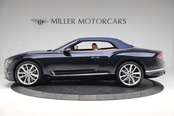New 2020 Bentley Continental GTC W12 for sale $292,575 at Bugatti of Greenwich in Greenwich CT 06830 14