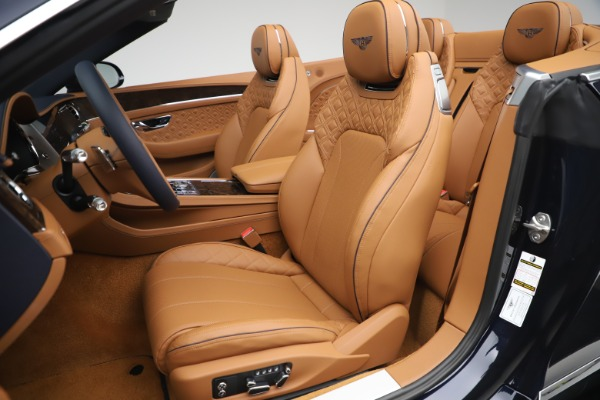 New 2020 Bentley Continental GTC W12 for sale $292,575 at Bugatti of Greenwich in Greenwich CT 06830 26