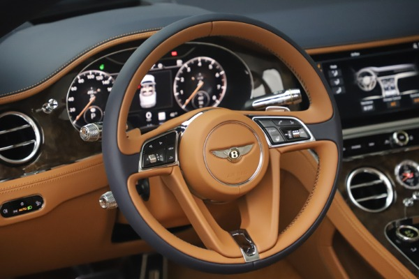 New 2020 Bentley Continental GTC W12 for sale $292,575 at Bugatti of Greenwich in Greenwich CT 06830 27