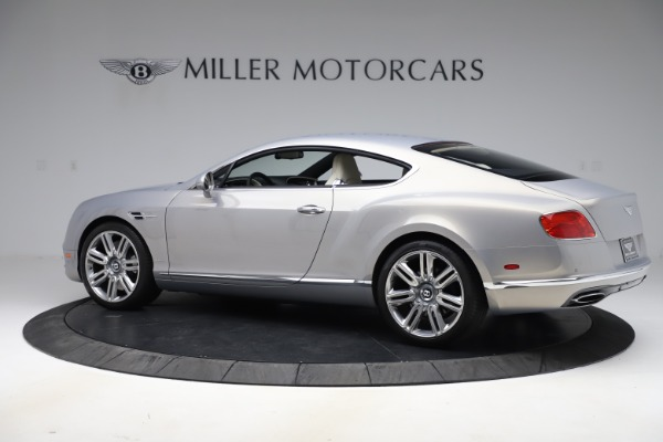 New 2016 Bentley Continental GT W12 for sale $128,900 at Bugatti of Greenwich in Greenwich CT 06830 4