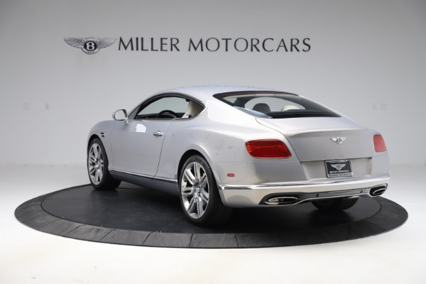 New 2016 Bentley Continental GT W12 for sale $128,900 at Bugatti of Greenwich in Greenwich CT 06830 5