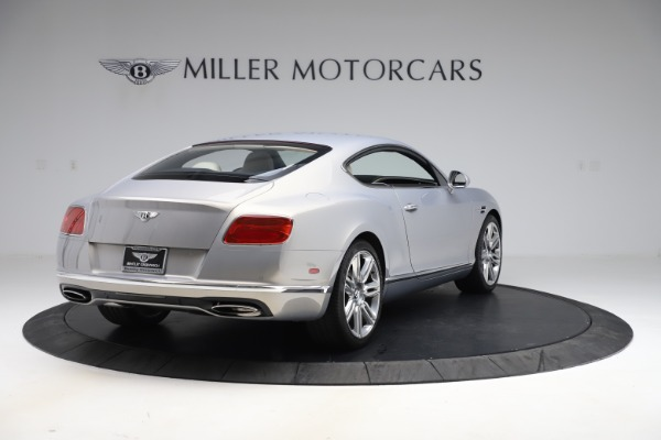 Used 2016 Bentley Continental GT W12 for sale $134,900 at Bugatti of Greenwich in Greenwich CT 06830 7