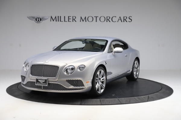 New 2016 Bentley Continental GT W12 for sale $128,900 at Bugatti of Greenwich in Greenwich CT 06830 1