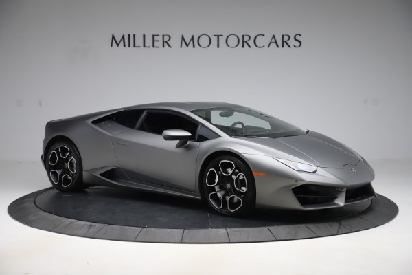 Used 2017 Lamborghini Huracan LP 580-2 for sale $179,900 at Bugatti of Greenwich in Greenwich CT 06830 10