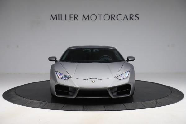 Used 2017 Lamborghini Huracan LP 580-2 for sale $179,900 at Bugatti of Greenwich in Greenwich CT 06830 12
