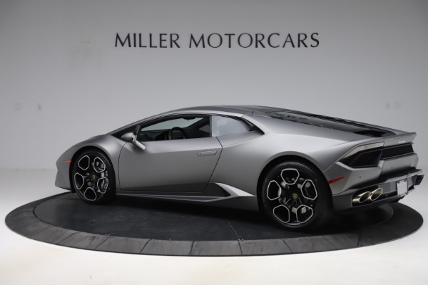 Used 2017 Lamborghini Huracan LP 580-2 for sale $179,900 at Bugatti of Greenwich in Greenwich CT 06830 4