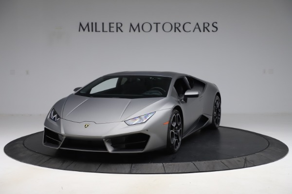 Used 2017 Lamborghini Huracan LP 580-2 for sale $179,900 at Bugatti of Greenwich in Greenwich CT 06830 1