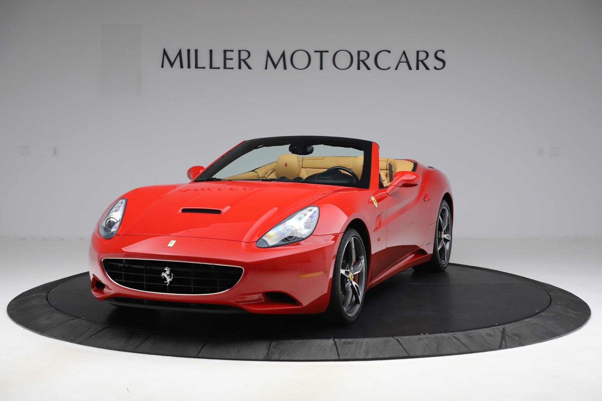 Used 2014 Ferrari California 30 for sale $127,900 at Bugatti of Greenwich in Greenwich CT 06830 1