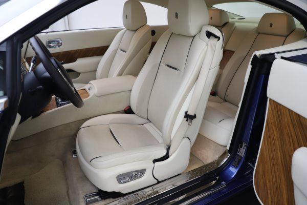 Used 2015 Rolls-Royce Wraith for sale $169,900 at Bugatti of Greenwich in Greenwich CT 06830 11