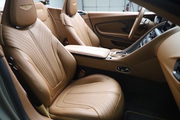Used 2020 Aston Martin DB11 Volante Convertible for sale $239,900 at Bugatti of Greenwich in Greenwich CT 06830 21