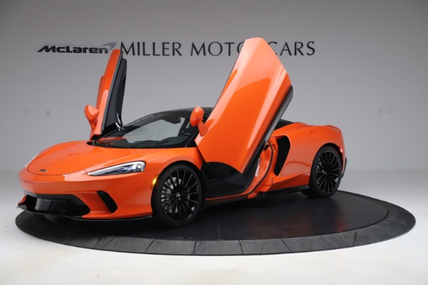 New 2020 McLaren GT Coupe for sale $246,975 at Bugatti of Greenwich in Greenwich CT 06830 10