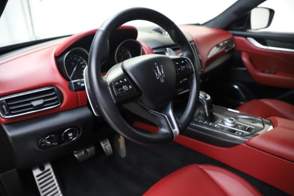 Used 2019 Maserati Levante S Q4 GranLusso for sale Sold at Bugatti of Greenwich in Greenwich CT 06830 13