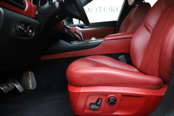 Used 2019 Maserati Levante S Q4 GranLusso for sale Sold at Bugatti of Greenwich in Greenwich CT 06830 14