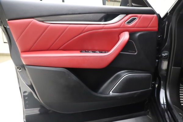 Used 2019 Maserati Levante S Q4 GranLusso for sale Sold at Bugatti of Greenwich in Greenwich CT 06830 17