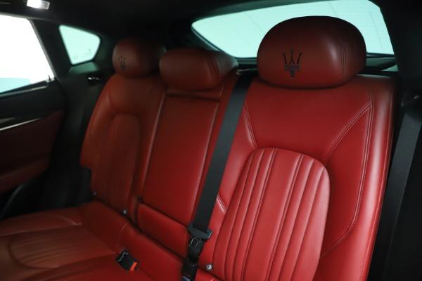 Used 2019 Maserati Levante S Q4 GranLusso for sale Sold at Bugatti of Greenwich in Greenwich CT 06830 18