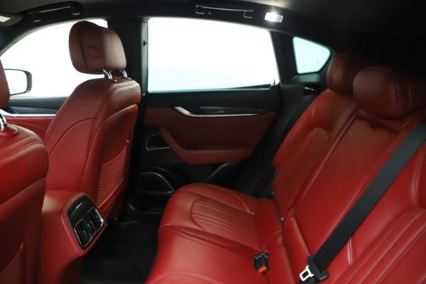 Used 2019 Maserati Levante S Q4 GranLusso for sale Sold at Bugatti of Greenwich in Greenwich CT 06830 19