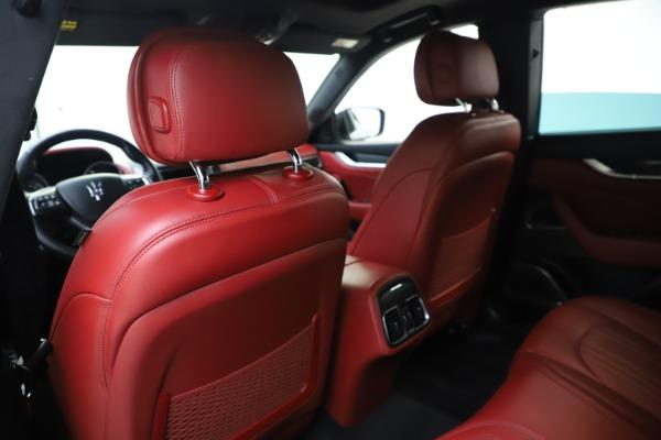 Used 2019 Maserati Levante S Q4 GranLusso for sale Sold at Bugatti of Greenwich in Greenwich CT 06830 20
