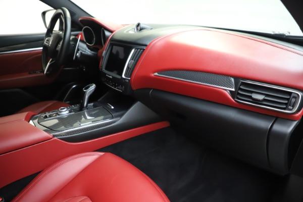 Used 2019 Maserati Levante S Q4 GranLusso for sale Sold at Bugatti of Greenwich in Greenwich CT 06830 22