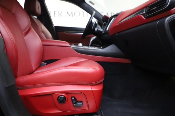 Used 2019 Maserati Levante S Q4 GranLusso for sale Sold at Bugatti of Greenwich in Greenwich CT 06830 23