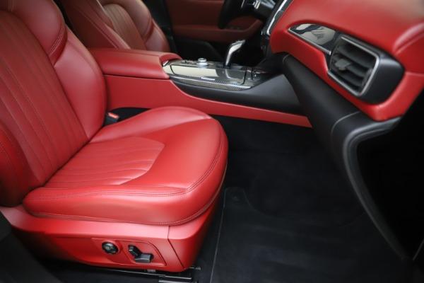 Used 2019 Maserati Levante S Q4 GranLusso for sale Sold at Bugatti of Greenwich in Greenwich CT 06830 24