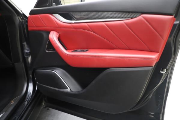 Used 2019 Maserati Levante S Q4 GranLusso for sale Sold at Bugatti of Greenwich in Greenwich CT 06830 25
