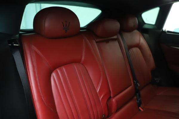 Used 2019 Maserati Levante S Q4 GranLusso for sale Sold at Bugatti of Greenwich in Greenwich CT 06830 26