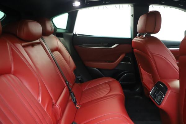 Used 2019 Maserati Levante S Q4 GranLusso for sale Sold at Bugatti of Greenwich in Greenwich CT 06830 27