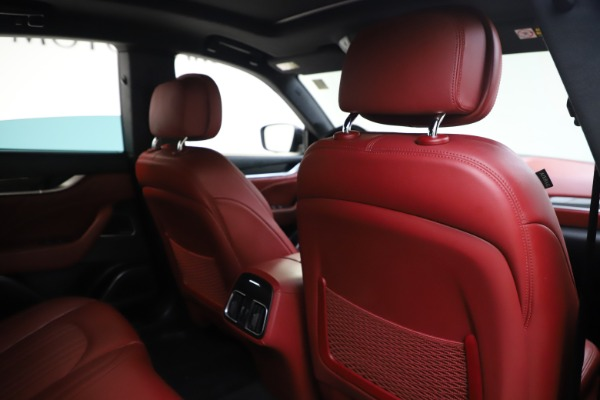 Used 2019 Maserati Levante S Q4 GranLusso for sale Sold at Bugatti of Greenwich in Greenwich CT 06830 28