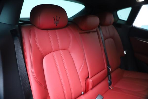 New 2020 Maserati Levante S Q4 GranSport for sale Sold at Bugatti of Greenwich in Greenwich CT 06830 25