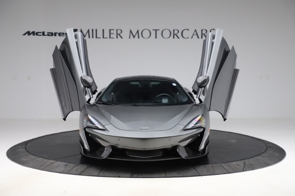 Used 2017 McLaren 570GT for sale Call for price at Bugatti of Greenwich in Greenwich CT 06830 7
