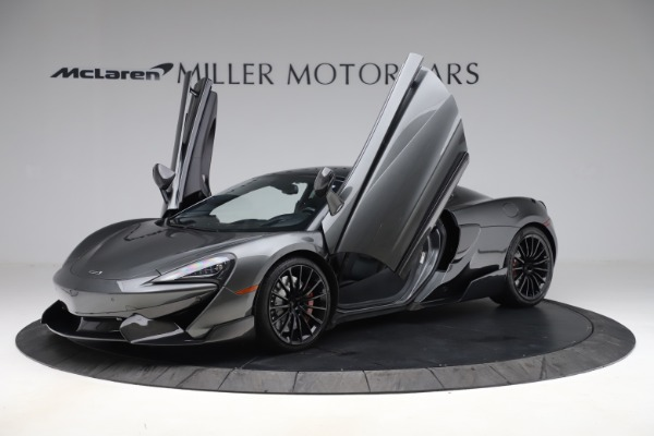 Used 2017 McLaren 570GT for sale Call for price at Bugatti of Greenwich in Greenwich CT 06830 8