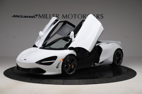 New 2020 McLaren 720S Coupe for sale $327,370 at Bugatti of Greenwich in Greenwich CT 06830 13