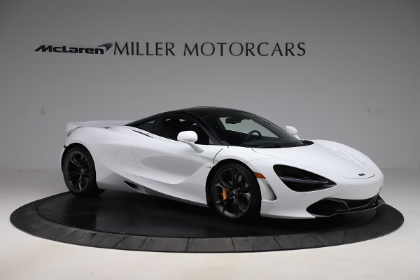 New 2020 McLaren 720S Coupe for sale $327,370 at Bugatti of Greenwich in Greenwich CT 06830 9