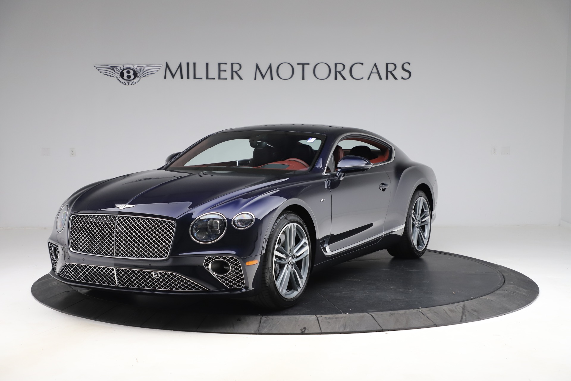 New 2020 Bentley Continental GT V8 for sale $242,250 at Bugatti of Greenwich in Greenwich CT 06830 1
