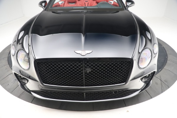 New 2020 Bentley Continental GTC V8 for sale $277,110 at Bugatti of Greenwich in Greenwich CT 06830 19