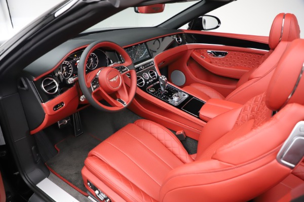 New 2020 Bentley Continental GTC V8 for sale $277,110 at Bugatti of Greenwich in Greenwich CT 06830 22