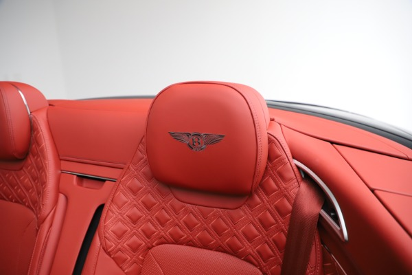 New 2020 Bentley Continental GTC V8 for sale $277,110 at Bugatti of Greenwich in Greenwich CT 06830 25