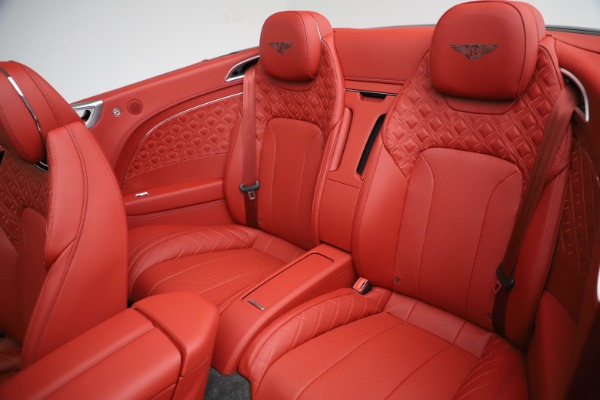 New 2020 Bentley Continental GTC V8 for sale $277,110 at Bugatti of Greenwich in Greenwich CT 06830 26